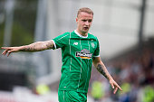 Leigh Griffiths of Celtic at the Pre Season Friendly between Celtic and Real Sociedad at St Mirren Park on July 10th 2015 in Paisley Scotland