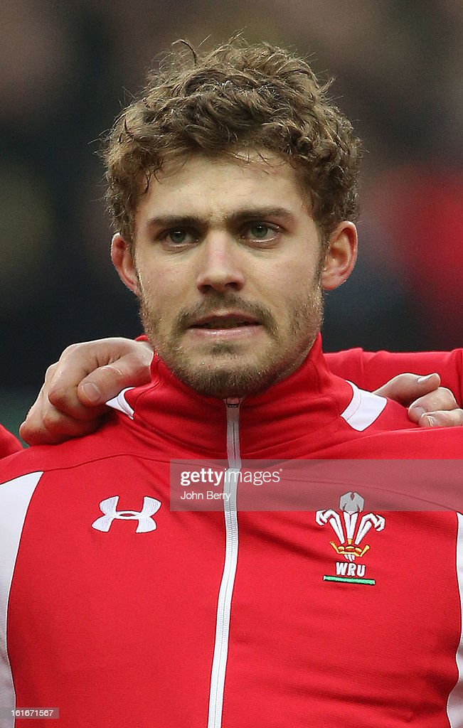 Leigh Halfpenny of Wales poses before the 6 Nations match between France and Wales at the Stade de France on February 9,, 2013 in Paris, France.