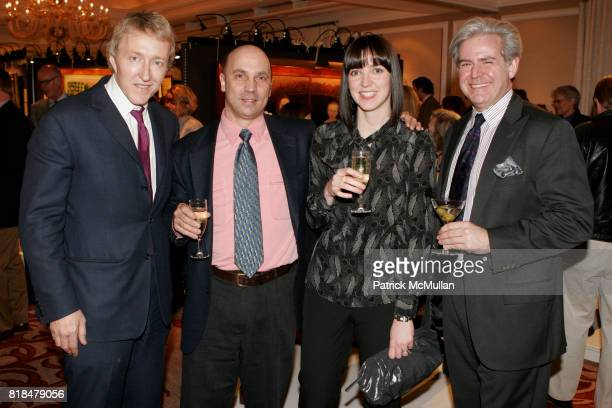 Leigh Keno Sam Farrell Amy Santamaria and Jim Gottis attend Keno Auctions Private Preview Party at Regency Hotel on January 22 2010 in New York City