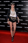 Leigh Lezark arrives at the Calzedonia Show Forever Together at Palazzo dei Congressi on April 16 2013 in Rimini Italy