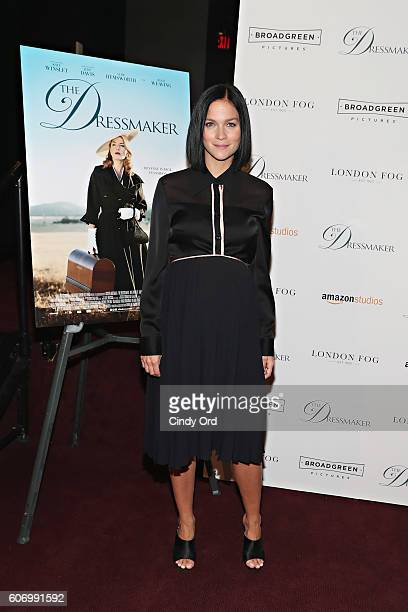 Leigh Lezark attends as London Fog presents a New York special screening of 'The Dressmaker' on September 16 2016 in New York City
