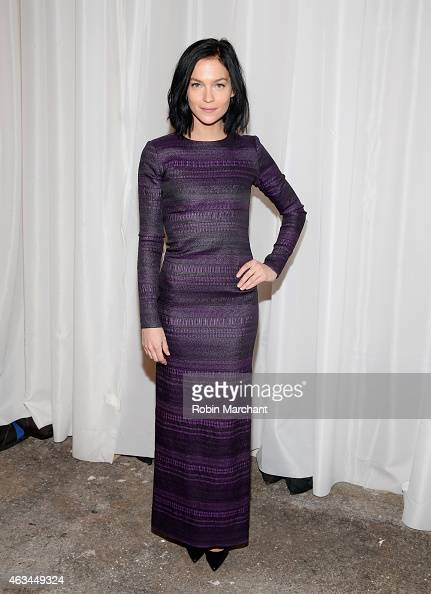 Leigh Lezark attends Christian Siriano Runway at ArtBeam on February 14 2015 in New York City