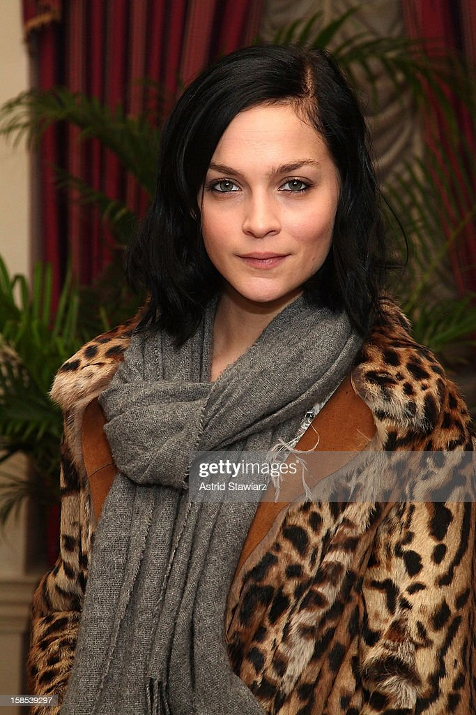 Leigh Lezark attends Derek Blasberg For Opening Ceremony Stationery Launch Party at Saint Regis Hotel on December 18, 2012 in New York City.
