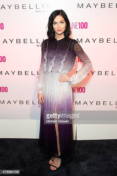 Leigh Lezark attends Maybelline New York's 100 Year Anniversary at IAC Building on May 14 2015 in New York City
