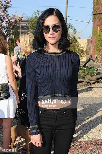 Leigh Lezark attends Pioneer Works 2nd Annual Village Fete presented by BOMBAY SAPPHIRE GIN at Pioneer Works Center for Art Innovation on May 3 2015...