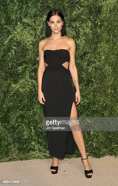 Leigh Lezark attends the 12th annual CFDA/Vogue Fashion Fund Awards at Spring Studios on November 2 2015 in New York City