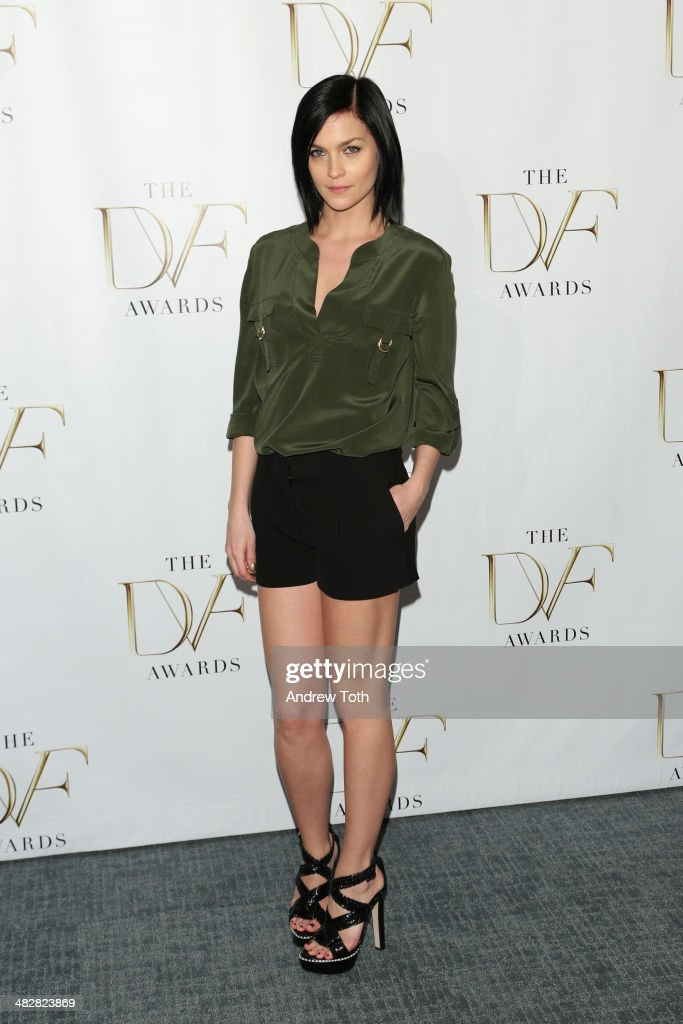 <a gi-track='captionPersonalityLinkClicked' href=/galleries/search?phrase=Leigh+Lezark&family=editorial&specificpeople=618872 ng-click='$event.stopPropagation()'>Leigh Lezark</a> attends the 2014 DVF Awards on April 4, 2014 in New York City.