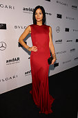 Leigh Lezark attends the amfAR Milano 2014 Gala as part of Milan Fashion Week Womenswear Spring/Summer 2015 on September 20 2014 in Milan Italy