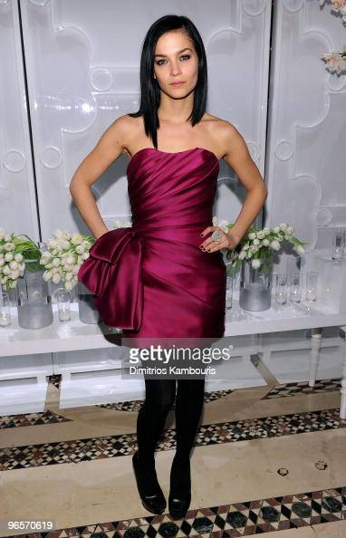 Leigh Lezark attends the amfAR New York Gala To Kick Off Fall 2010 Fashion Week at Cipriani 42nd Street on February 10 2010 in New York New York