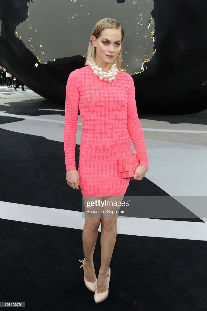 Leigh Lezark attends the Chanel Fall/Winter 2013 Ready-to-Wear show as part of Paris Fashion Week at Grand Palais on March 5, 2013 in Paris, France.
