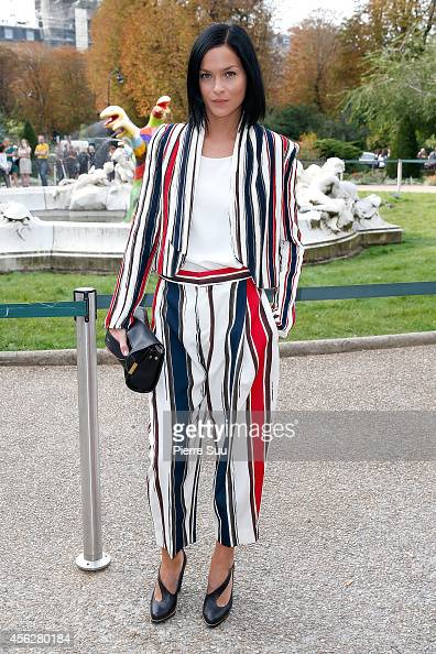 Leigh Lezark attends the Chloe show as part of the Paris Fashion Week Womenswear Spring/Summer 2015 on September 28 2014 in Paris France