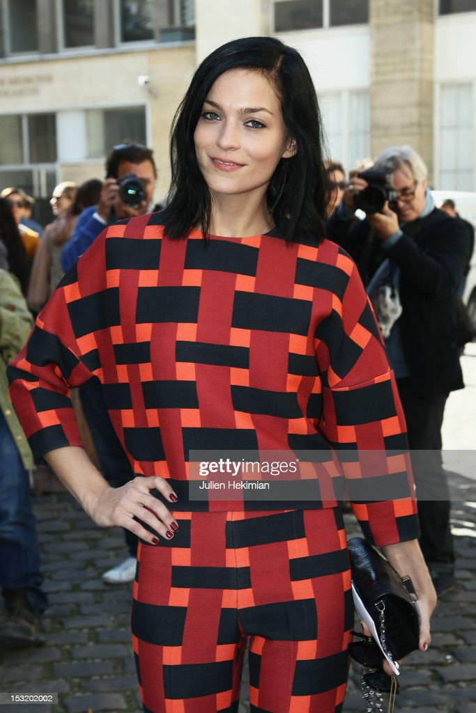 Leigh Lezark attends the Giambattista Valli Spring / Summer 2013 show as part of Paris Fashion Week on October 1, 2012 in Paris, France.