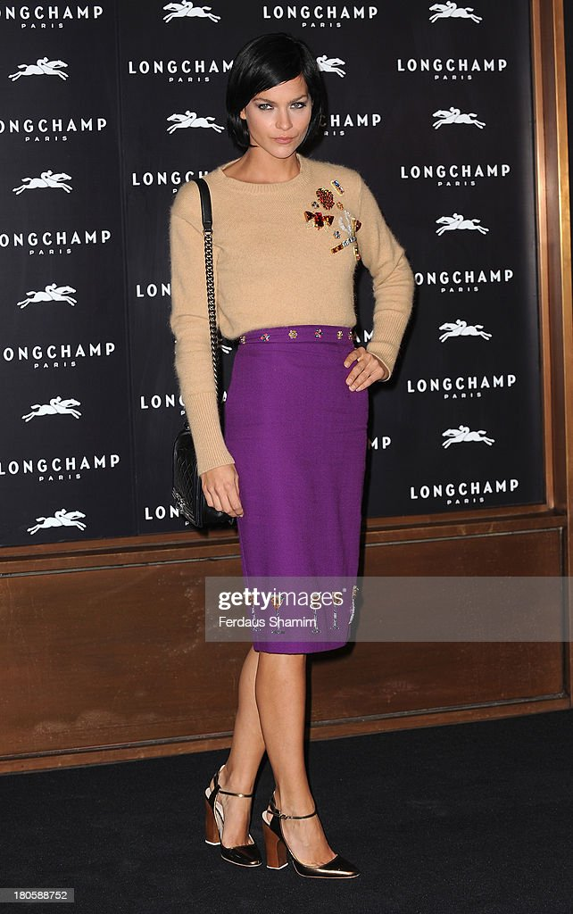 <a gi-track='captionPersonalityLinkClicked' href=/galleries/search?phrase=Leigh+Lezark&family=editorial&specificpeople=618872 ng-click='$event.stopPropagation()'>Leigh Lezark</a> attends the grand opening party of Longchamp Regent Street at Longchamp on September 14, 2013 in London, England.