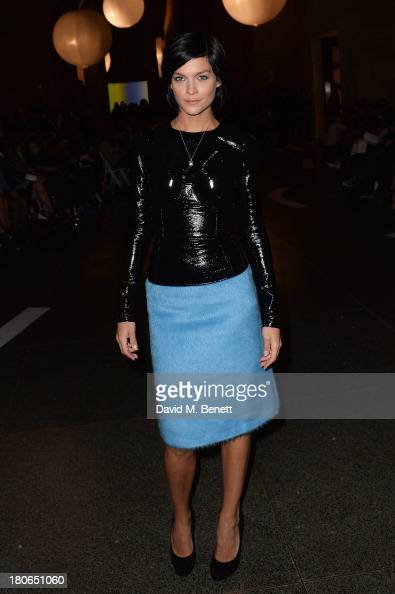 Leigh Lezark attends the Jonathan Saunders show during London Fashion Week SS14 at Tate Britain on September 15 2013 in London England