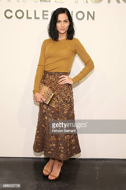 Leigh Lezark attends the Michael Kors Spring 2016 Runway Show during New York Fashion Week The Shows at Spring Studios on September 16 2015 in New...