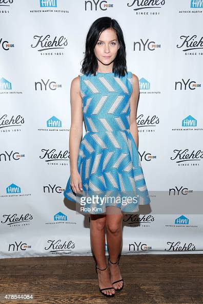 Leigh Lezark attends the NYC Pride and Kiehl's Since 1851 Celebrate Pride Week 2015 event at Kiehl's Since 1851 Flagship Store on June 25 2015 in New...