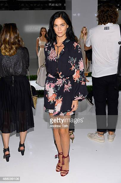 Leigh Lezark attends the Rachel Zoe Presentation Spring 2016 during New York Fashion Week The Shows at The Space Skylight at Clarkson Sq on September...