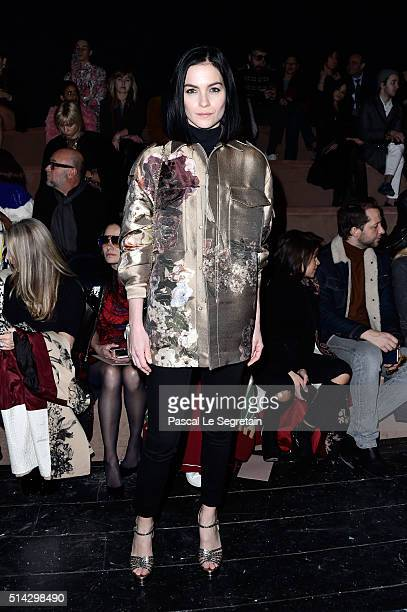 Leigh Lezark attends the Valentino show as part of the Paris Fashion Week Womenswear Fall/Winter 2016/2017 on March 8 2016 in Paris France