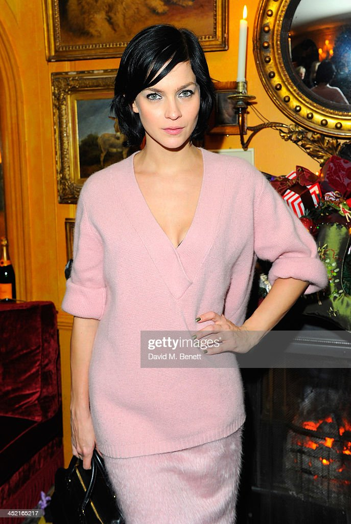 Leigh Lezark attends Veuve Clicquot Style Party at Annabel's on November 26, 2013 in London, England.
