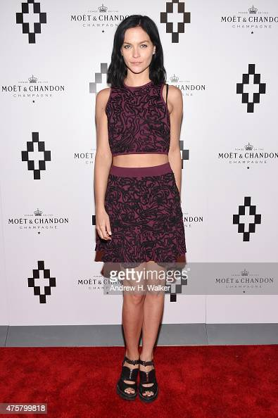Leigh Lezark of the Misshapes attends the Moet Nectar Imperial Rose x Marcelo Burlon Launch Event on June 3 2015 in New York City