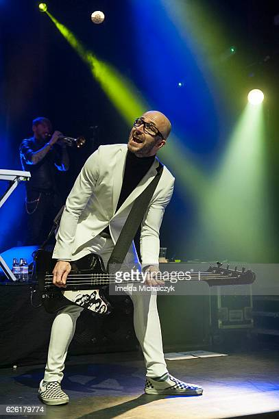 Leigh Marklew of Terrorvision performs at KOKO on November 27 2016 in London England