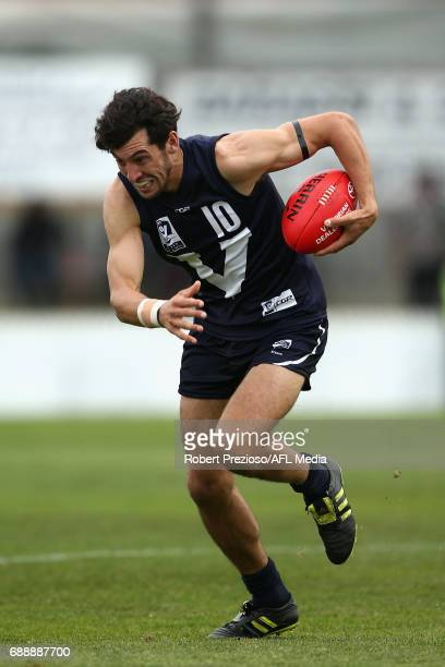 Leigh Masters of VFL runs during the match between VFL and WAFL at North Port Oval on May 27 2017 in Melbourne Australia