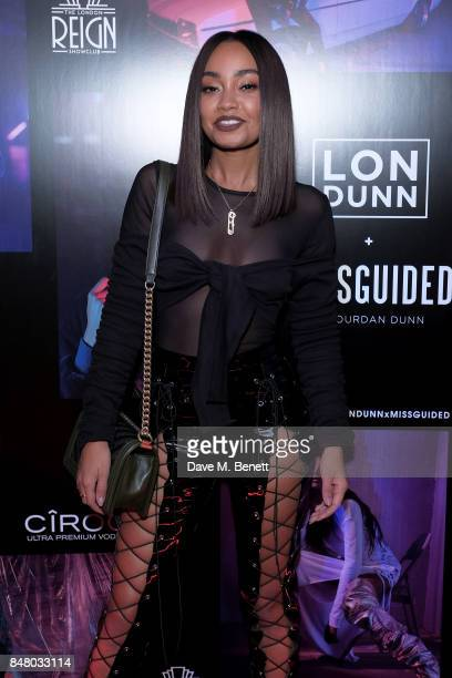 LeighAnne Pinnock attends LON DUNN x Missguided Official Launch Party Hosted by Jourdan Dunn at The London Reign on September 16 2017 in London...
