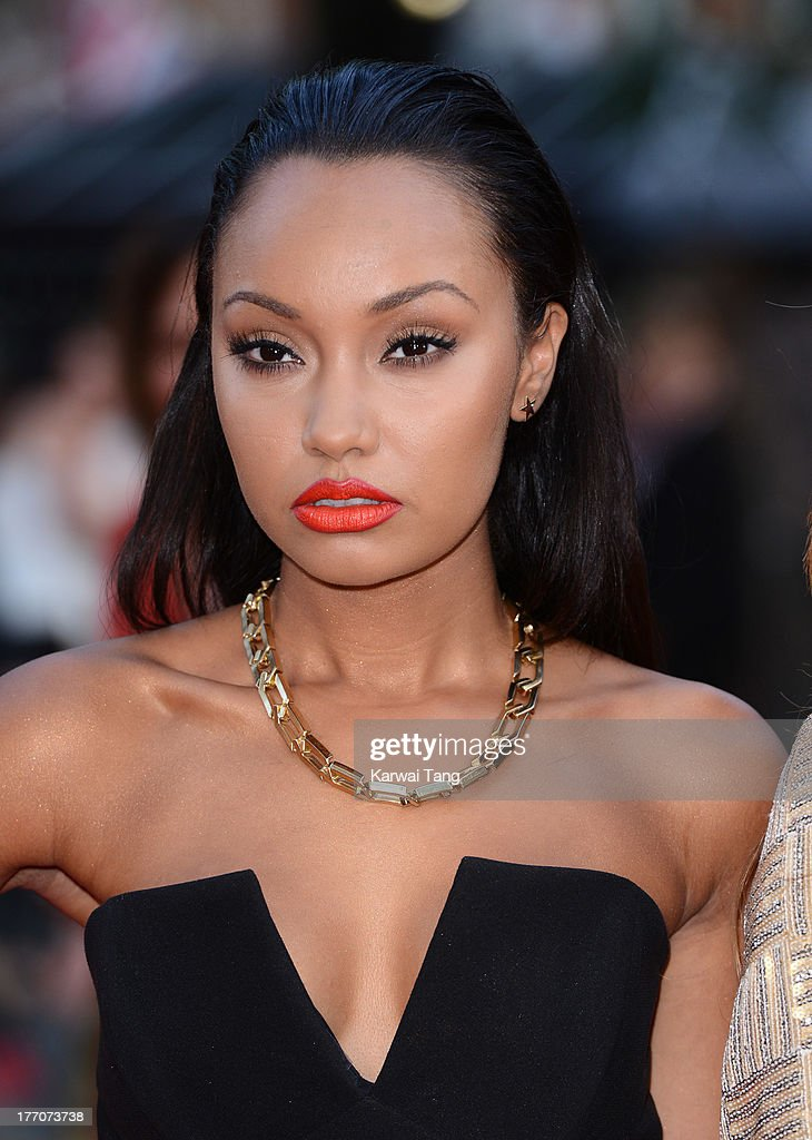 Leigh-Anne Pinnock attends the World Premiere of 'One Direction: This Is Us' at Empire Leicester Square on August 20, 2013 in London, England.