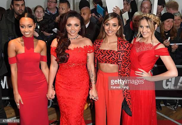 LeighAnne Pinnock Jesy Nelson Jade Thirlwall and Perrie Edwards of Little Mix attend the Glamour Women of the Year Awards at Berkeley Square Gardens...