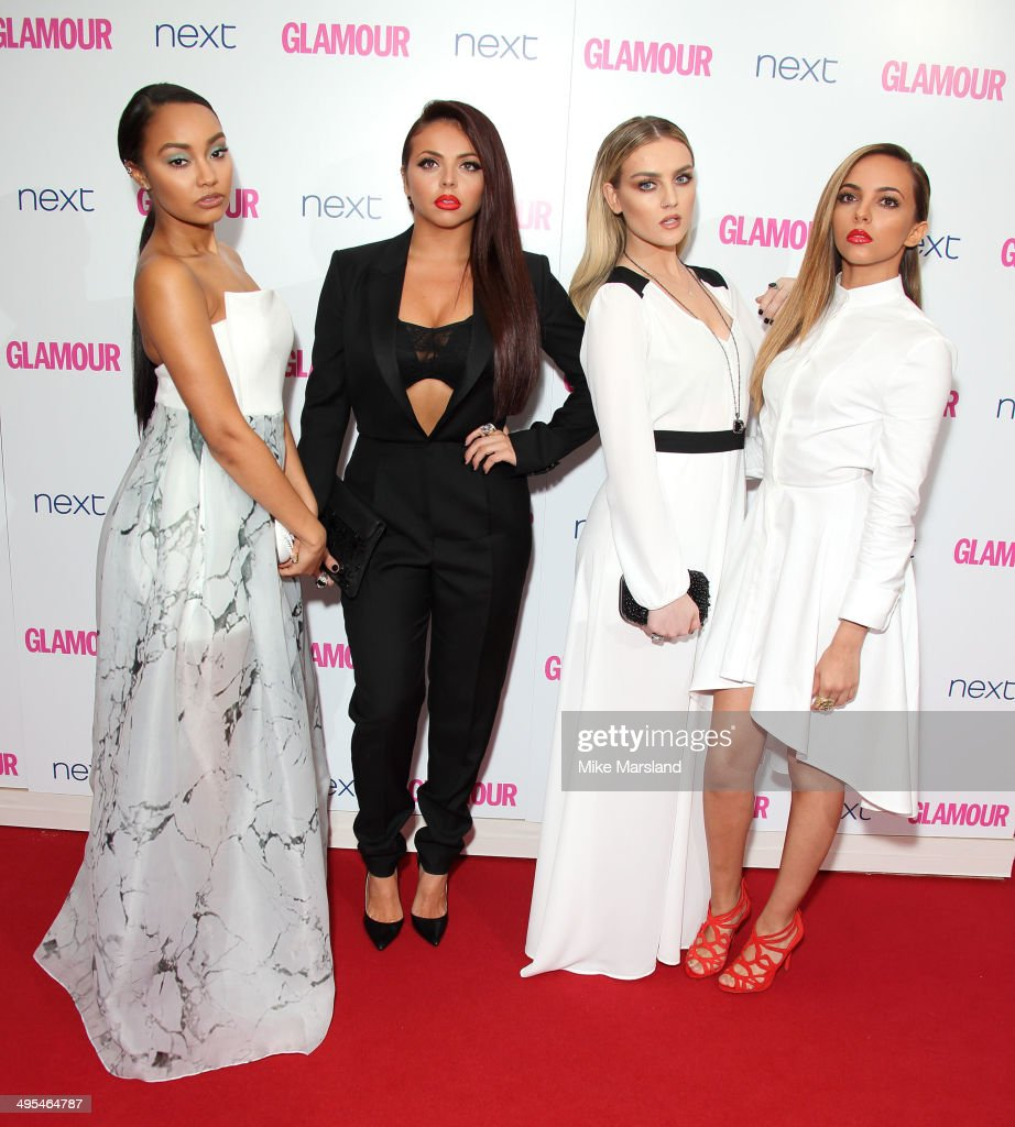 LeighAnne Pinnock Jesy Nelson Perrie Edwards and Jade Thirlwall from Little Mix attend the Glamour Women of the Year Awards at Berkeley Square...
