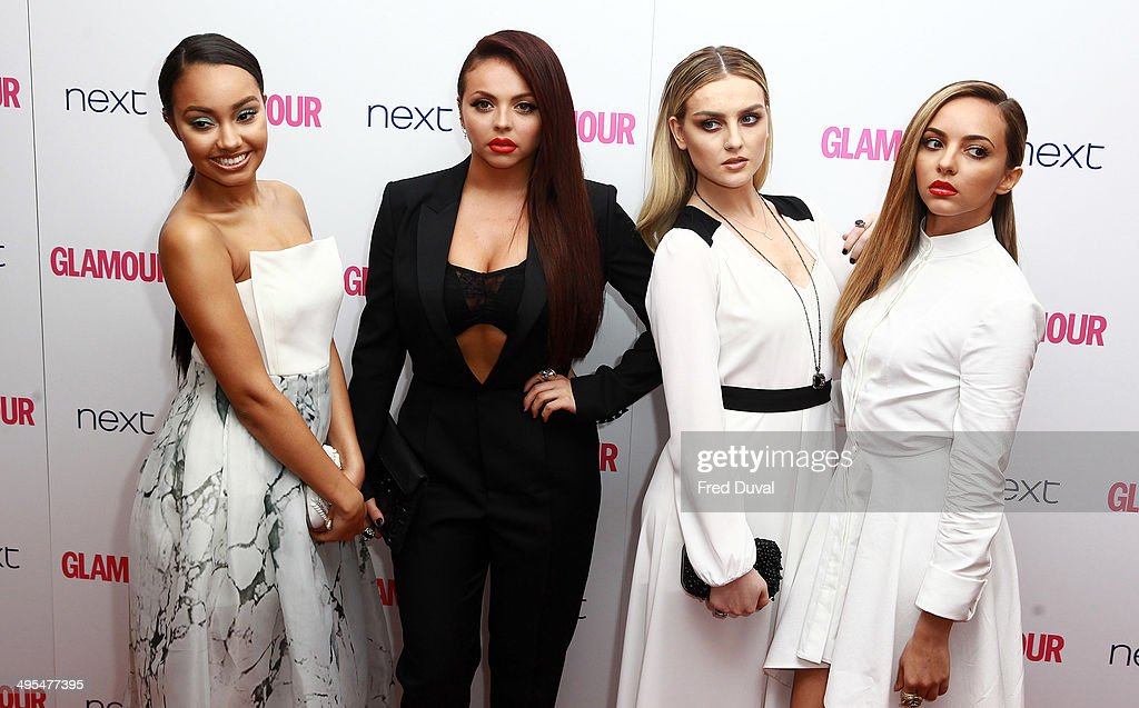 <a gi-track='captionPersonalityLinkClicked' href=/galleries/search?phrase=Leigh-Anne+Pinnock&family=editorial&specificpeople=8378207 ng-click='$event.stopPropagation()'>Leigh-Anne Pinnock</a>, <a gi-track='captionPersonalityLinkClicked' href=/galleries/search?phrase=Jesy+Nelson+-+Little+Mix&family=editorial&specificpeople=8378192 ng-click='$event.stopPropagation()'>Jesy Nelson</a>, Perry Edwards and <a gi-track='captionPersonalityLinkClicked' href=/galleries/search?phrase=Jade+Thirlwall&family=editorial&specificpeople=8378191 ng-click='$event.stopPropagation()'>Jade Thirlwall</a> of <a gi-track='captionPersonalityLinkClicked' href=/galleries/search?phrase=Little+Mix+-+Entertainment+Group&family=editorial&specificpeople=8583992 ng-click='$event.stopPropagation()'>Little Mix</a> attend the Glamour Women of the Year Awards at Berkeley Square Gardens on June 3, 2014 in London, England.