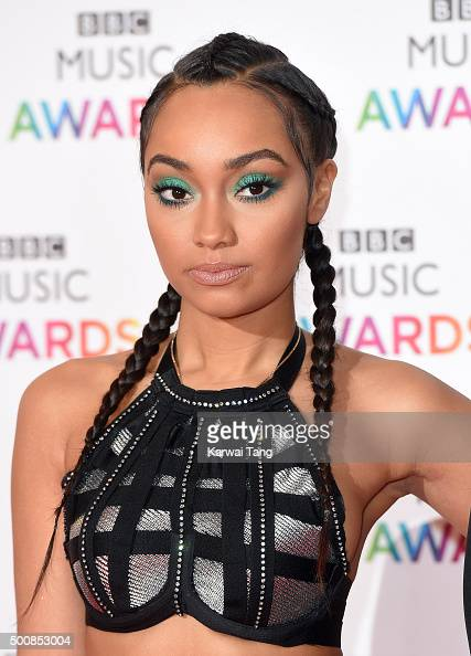 LeighAnne Pinnock of Little Mix attends the BBC Music Awards at Genting Arena on December 10 2015 in Birmingham England