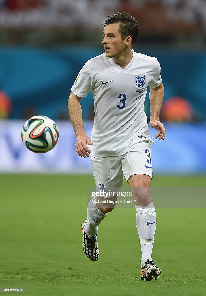 Leighton Baines of England in action during the 2014 FIFA World Cup Brazil Group D match between England and Italy at Arena Amazonia on June 14, 2014 in Manaus, Brazil.