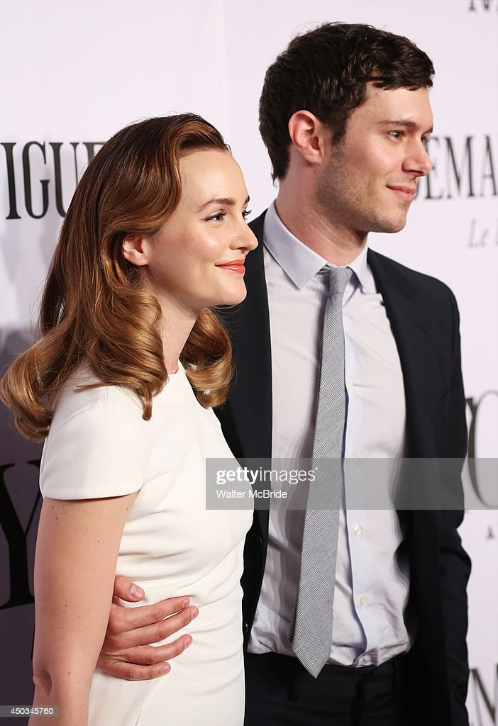 <a gi-track='captionPersonalityLinkClicked' href=/galleries/search?phrase=Leighton+Meester&family=editorial&specificpeople=3947554 ng-click='$event.stopPropagation()'>Leighton Meester</a> and <a gi-track='captionPersonalityLinkClicked' href=/galleries/search?phrase=Adam+Brody&family=editorial&specificpeople=213610 ng-click='$event.stopPropagation()'>Adam Brody</a> attend American Theatre Wing's 68th Annual Tony Awards at Radio City Music Hall on June 8, 2014 in New York City.