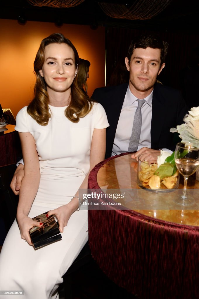 <a gi-track='captionPersonalityLinkClicked' href=/galleries/search?phrase=Leighton+Meester&family=editorial&specificpeople=3947554 ng-click='$event.stopPropagation()'>Leighton Meester</a> and <a gi-track='captionPersonalityLinkClicked' href=/galleries/search?phrase=Adam+Brody&family=editorial&specificpeople=213610 ng-click='$event.stopPropagation()'>Adam Brody</a> attend the 68th Annual Tony Awards at Radio City Music Hall on June 8, 2014 in New York City.
