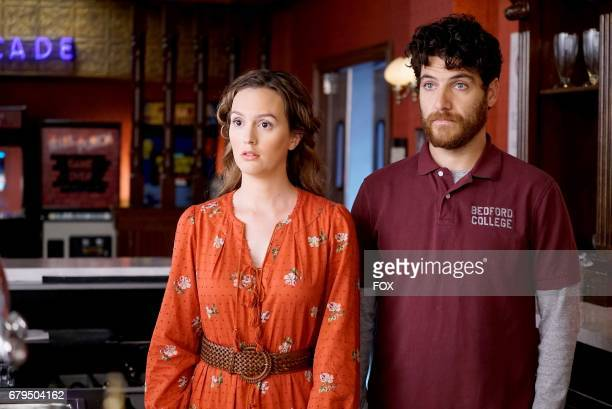 Leighton Meester and Adam Pally in the 'The Duel' episode of MAKING HISTORY airing Sunday May 7 on FOX