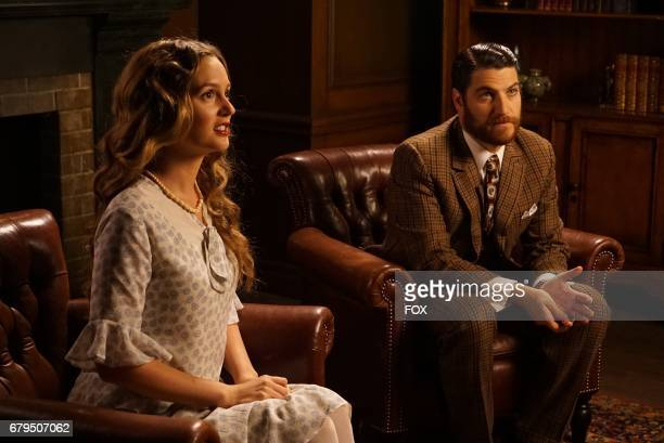 Leighton Meester and Adam Pally in the 'The Godfriender' episode of MAKING HISTORY airing Sunday April 23 on FOX