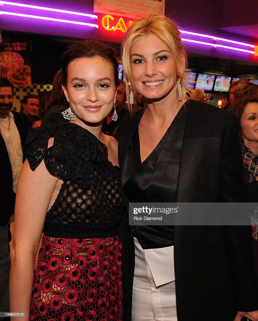 <a gi-track='captionPersonalityLinkClicked' href=/galleries/search?phrase=Leighton+Meester&family=editorial&specificpeople=3947554 ng-click='$event.stopPropagation()'>Leighton Meester</a> and <a gi-track='captionPersonalityLinkClicked' href=/galleries/search?phrase=Faith+Hill&family=editorial&specificpeople=175933 ng-click='$event.stopPropagation()'>Faith Hill</a> attend the 'Country Strong' Premiere at Regal Green Hills on November 8, 2010 in Nashville, Tennessee.
