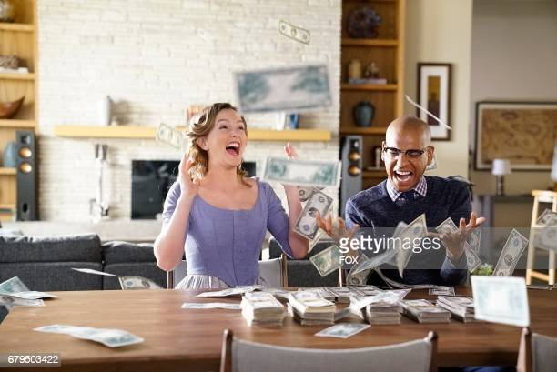 Leighton Meester and Yassir Lester in the 'Night Cream' episode of MAKING HISTORY airing Sunday April 30 on FOX