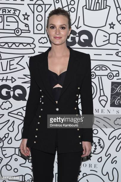 Leighton Meester attends the Saks Downtown Men's opening at Saks Downtown Men's on February 22 2017 in New York City
