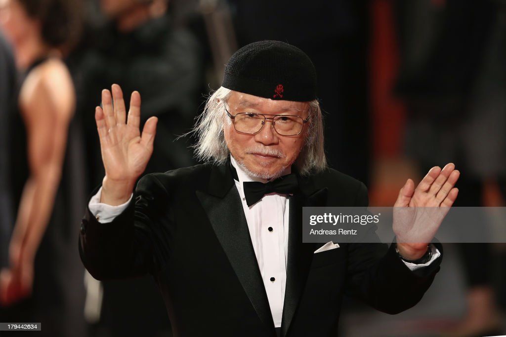 <a gi-track='captionPersonalityLinkClicked' href=/galleries/search?phrase=Leiji+Matsumoto&family=editorial&specificpeople=7857927 ng-click='$event.stopPropagation()'>Leiji Matsumoto</a> attends the 'Harlock Space Pirate' Premiere at the 70th Venice International Film Festival at Palazzo del Cinema on September 3, 2013 in Venice, Italy.