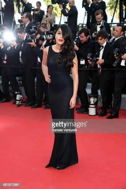 Leila Bekhti attends 'The Homesman' Premiere at the 67th Annual Cannes Film Festival on May 18 2014 in Cannes France