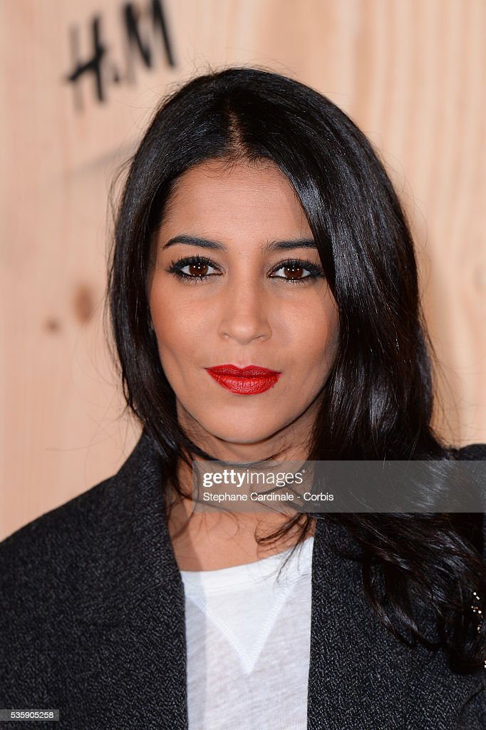 Leila Bekhti attends the 'Isabel Marant For H&M' Photocall at Tennis Club De Paris, in Paris.