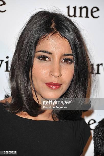 Leila Bekhti attends 'Une Vie Meilleure' Paris Premiere at Cinema Max Linder on December 15 2011 in Paris France