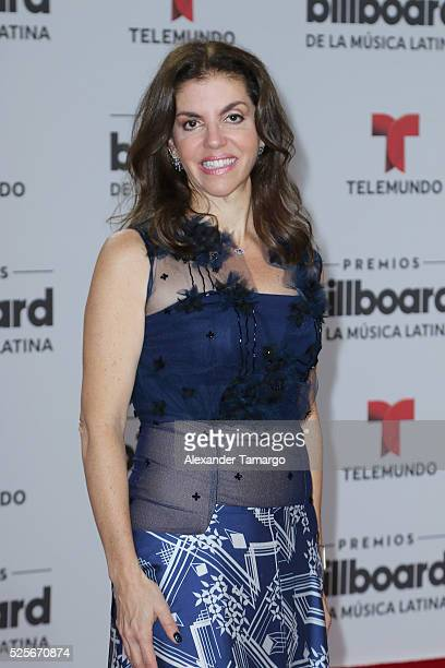 Leila Cobo attends the Billboard Latin Music Awards at Bank United Center on April 28 2016 in Miami Florida