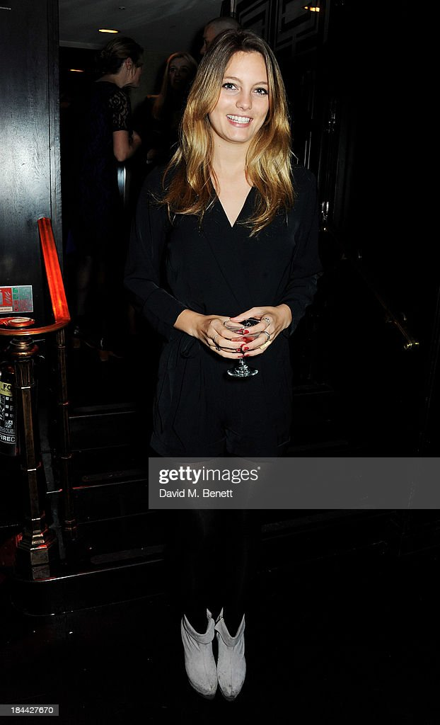 Leila George D'Onofrio attends a post-screening party for 'The Last Impresario' during the 57th BFI London Film Festival at The Arts Club on October 13, 2013 in London, England.