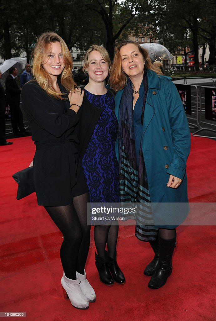 Leila George, Nicole Donahue and Great Scacchi attend a screening of 'The Last Impresario' during the 57th BFI London Film Festival at Odeon West End on October 13, 2013 in London, England.