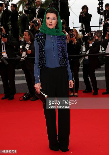 Leila Hata attends the 'Jimmy's Hall' Premiere at the 67th Annual Cannes Film Festival on May 22 2014 in Cannes France