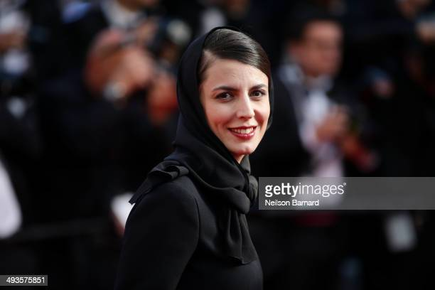 Leila Hatami attends the Closing Ceremony and 'A Fistful of Dollars' screening during the 67th Annual Cannes Film Festival on May 24 2014 in Cannes...