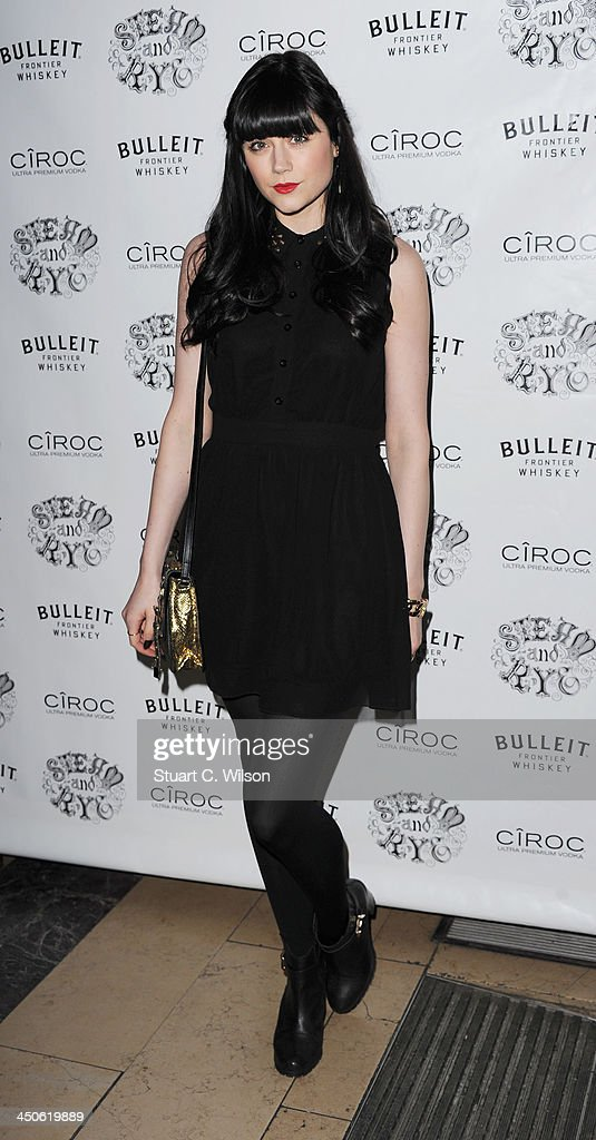 Leila Parsons arrives for the 'Steam and Rye' Restaurant launch party on November 19, 2013 in London, England.